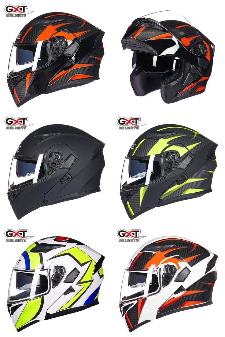 [Visit to Buy] VCOROS 902 Flip Up Motorcycle Helmet Modular Moto Helmet With Inner Sun Visor Safety Double Lens Racing Full Face Helmets #Advertisement