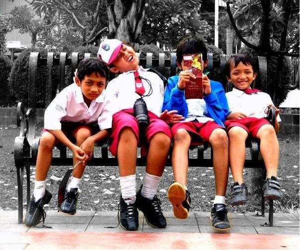 anak sekolah dasar #TheMostFav