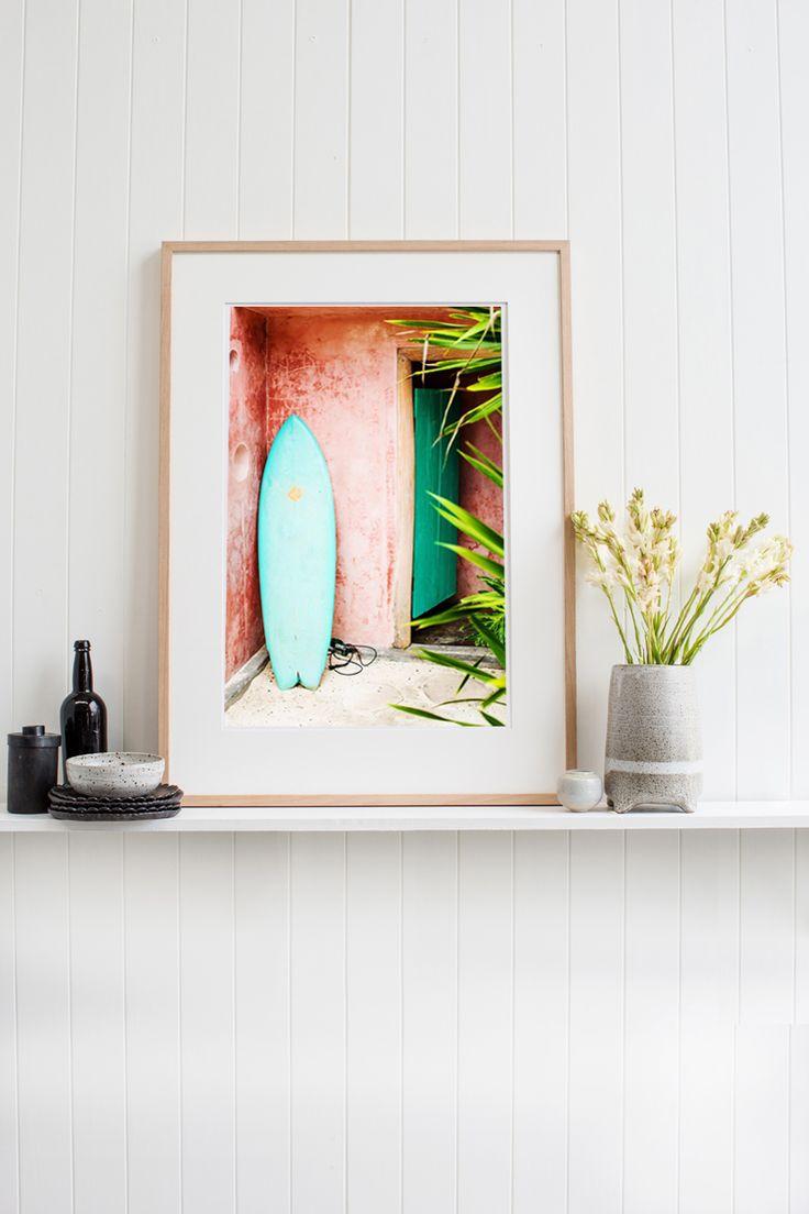 'Surfboard' Photographic Print © Kara Rosenlund