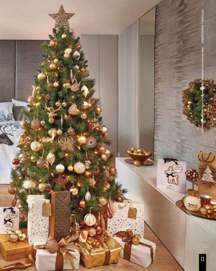 Bézs-arany karácsony #karacsony #tescomagyarorszag