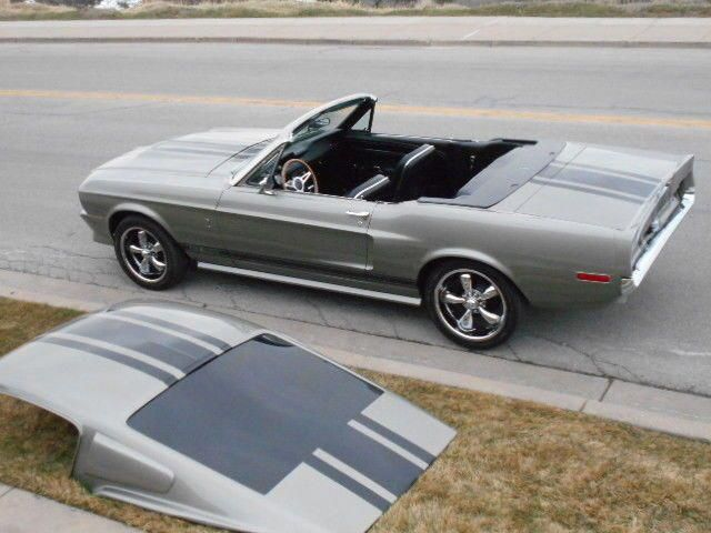 67 68 Shelby Mustang Convertible Roadster Eleanor Colors Removable Fastback Roof For Sale Photos Technica Mustang Convertible Mustang Shelby Ford Convertible