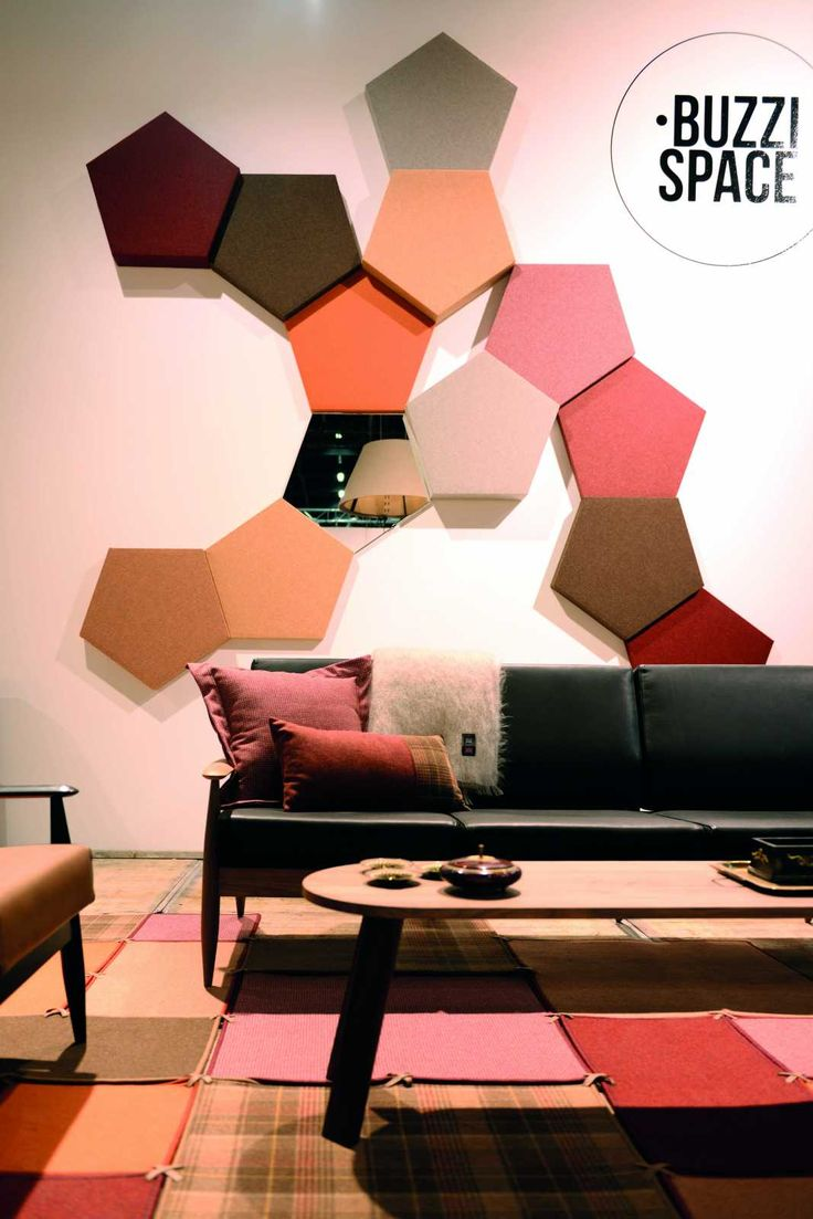 BuzziBlox Penta - Acoustic noise reduction wall art