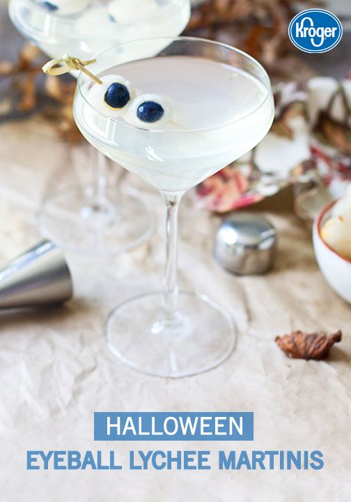 at your fall party with this recipe for Halloween Eyeball Lychee ...
