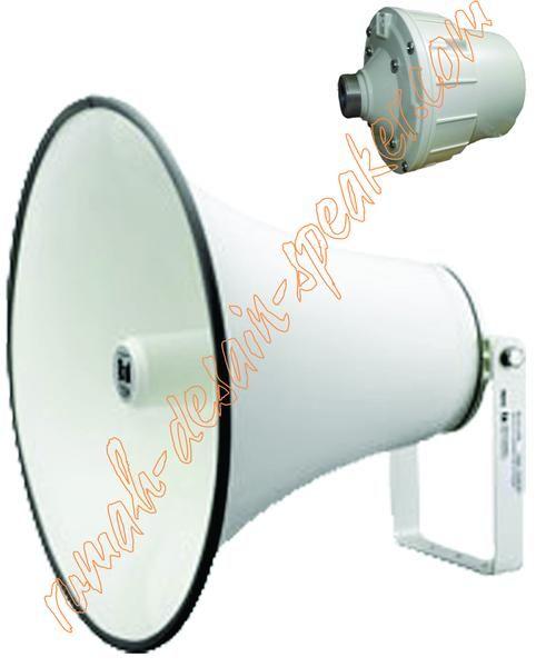 Speaker corong mesjid TOA 50 Watt model ZH-652MD, High Impedansi, dengan diaphragm/spul ZG-50DB warna merah memiliki daya 50 Watt (2 kali lipat dari ZH-5025 series)  Speaker Horn ini merupakan gabungan antara Horn ZH-652T dan Driver unit ZH-652MD  Suara lebih kencang hingga mencapai 100 meter lebih dengan pemasangan yang tepat dan ketinggian yang cukup dan perhitungan daya ampli yang benar.  Mudah pemasangannya dan perawatannya karena driver unit nya cukup dilepas dengan cara diputar dan…