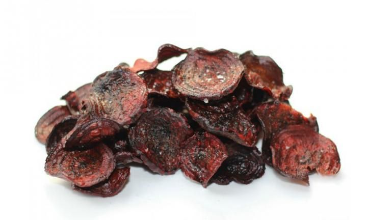If it's a healthy snack you're after, these beetroot chips are just what you need.