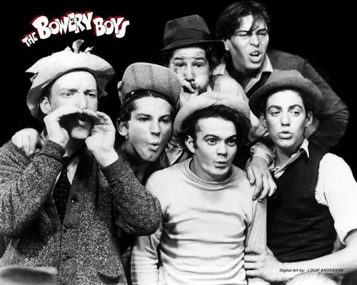 The Age of Comedy - The Bowery Boys 1947 aka The East Side Kids. I watched the reruns with my Dad in the 60s  70s. it was a GREAT SHOW, wish they would run these again!!! SERIOUSLY!!!