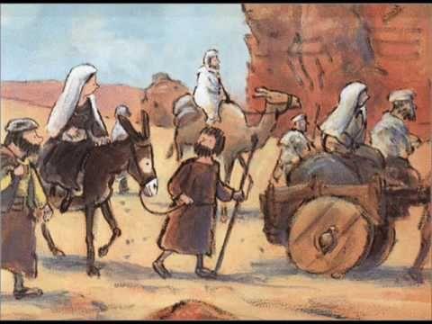 Oh jeugdsentiment.... 'Sjok sjok sjok, liep het ezeltje'. Dit zongen we met kerst op de basisschool.
