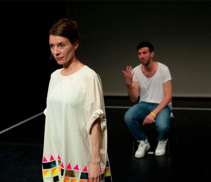 Keren Cytter Show Real Drama Photo: Sal Kroonenberg Courtesy the artist; Galleria Raffaella Cortese, Milano  LIBERI TUTTI http://www.miart.it/en/program
