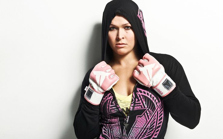 Ronda Rousey wearing MMA Gloves Wallpaper #73099 - Resolution 1280x800 px
