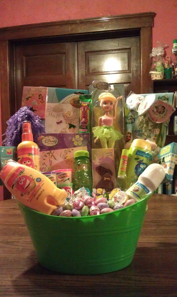 10 best my boys gift ideas images on pinterest easter baskets order your tinkerbell basket today for easter 35 call tracy at 440 310 negle Image collections