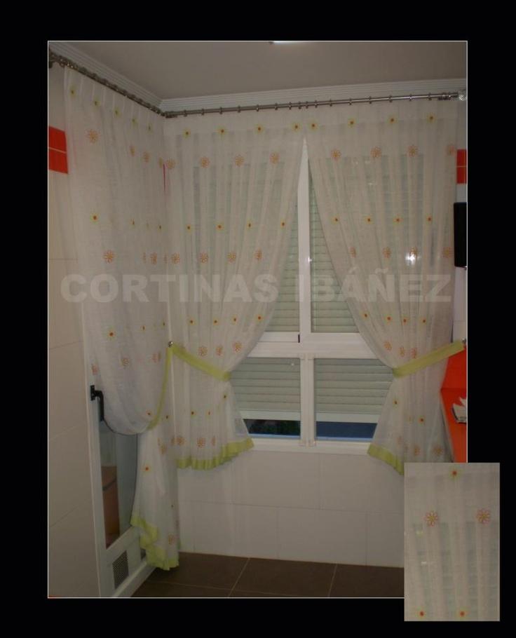 17 mejores im genes sobre cortinas en cocinas en pinterest - Ver cocinas montadas ...
