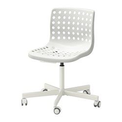 SKÅLBERG / SPORREN Swivel chair, white - - - IKEA