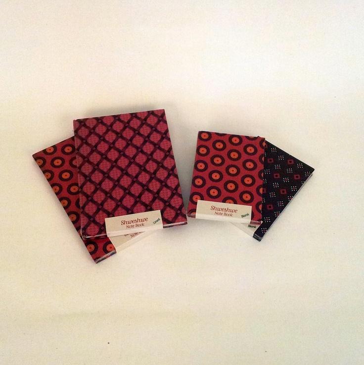 Shweshwe Notebooks R 52 to r 77