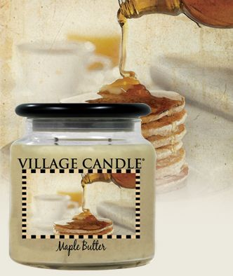 Maple Butter| New Kitchen Collection Scented Candles | Village Candle