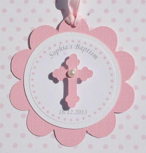 Baptism Favor Tags Pink Set of 12 by StudioDris on Etsy, $10.00?