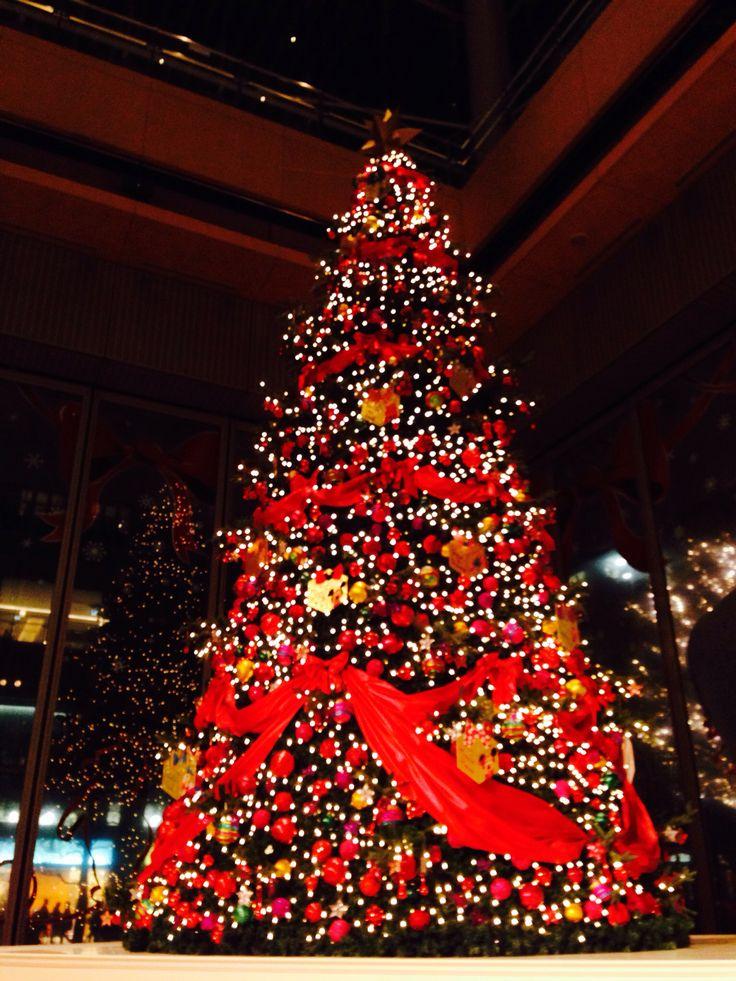 新丸ビルのクリスマスツリー
