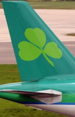 Travelers visiting Ireland from the United States can fly on one of
