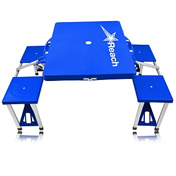 A high quality promotional item like the Portable Folding Table For 4 is the perfect reminder. Being able to be used for seating, food table and features like easy to set up, easy to store. More info: http://avonpromo.com/portable-folding-table-p-6777.html