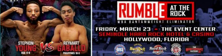 Young to Face Reymart in WBA Eliminator on March 23 #Latest #allthebelts #boxing