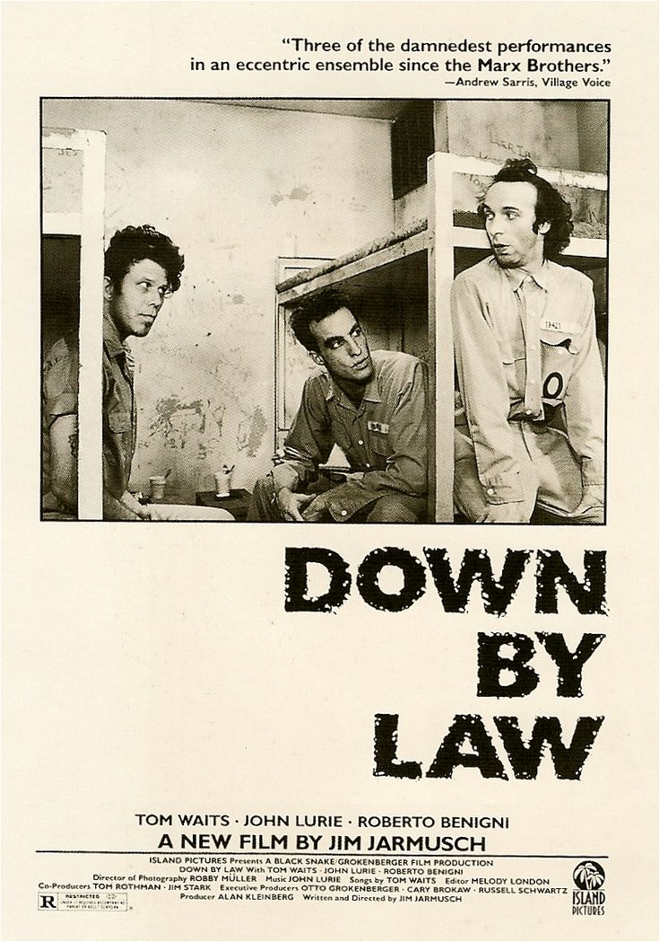 Down By Law - one of my absolute favorite movies.