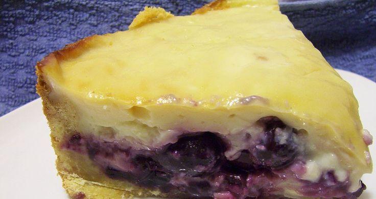 Un trozo de kuchen? Me encantan es algo muy rico  Es una tarta rellena con cerezas y crema pastelera       Los ingredientes   M...