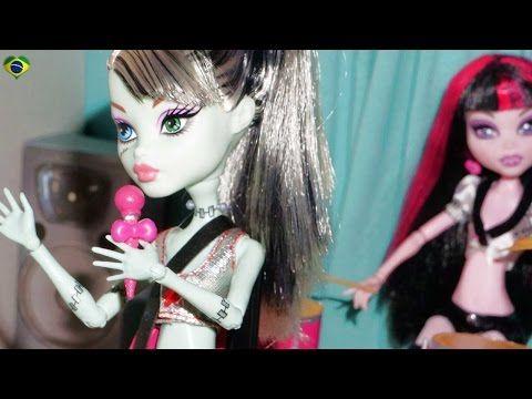 Como fazer um microfone com pedestal para boneca Monster High, Barbie, EAH, etc - YouTube