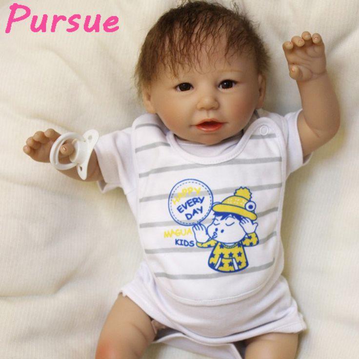Pursue 53 cm Reborn Vinyl Dolls Silicone Reborn Baby Dolls Toys for Girls for Sale Cheap boneca bebe reborn barato verdadeira #Affiliate
