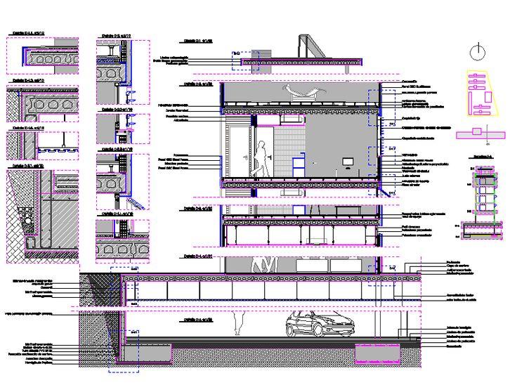 1000 images about detalles constructivos on pinterest for Detalles autocad