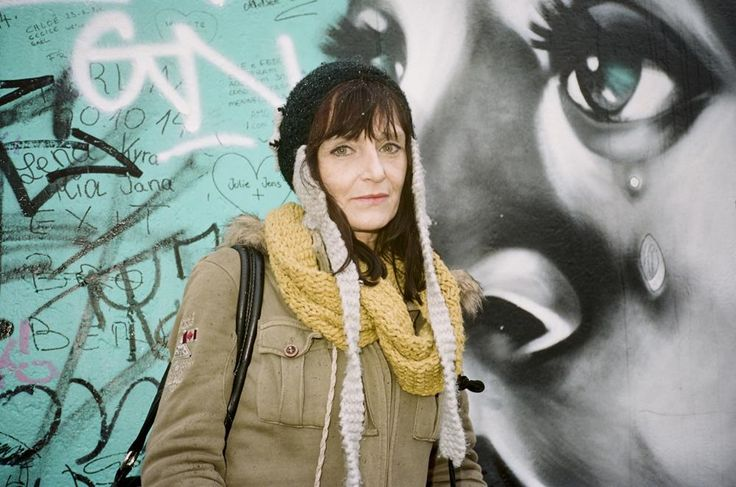 Christiane à Berlin en 2015.  Photo de Brad Elterman.