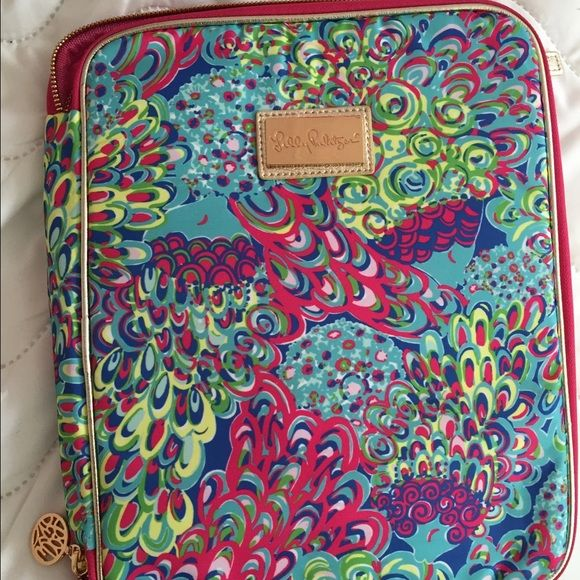 Lily Pultizer Large Portfolio Case Fits extra large Lilly Pulitzer agenda Lilly Pulitzer Accessories