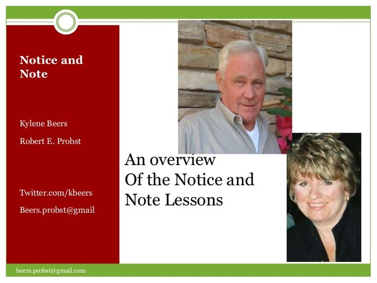 GREAT strategy for teaching close reading Notice and note slides