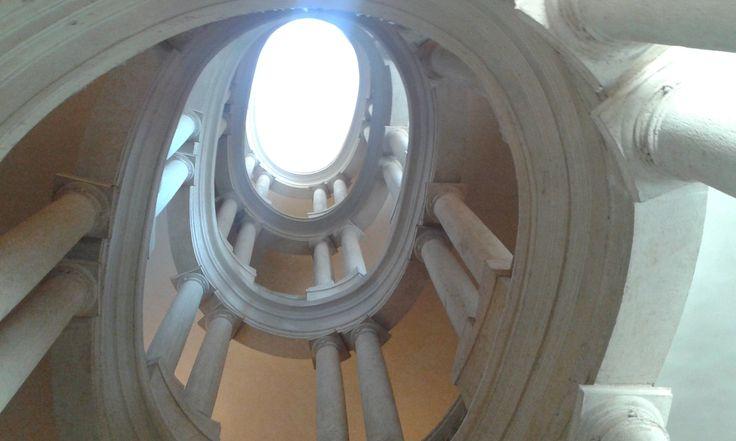 Elicoidal Staircase (Borromini) - Palazzo Barberini