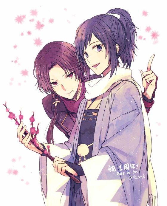 Yamatonokami & Kashuu   Touken Ranbu @七都サマコ