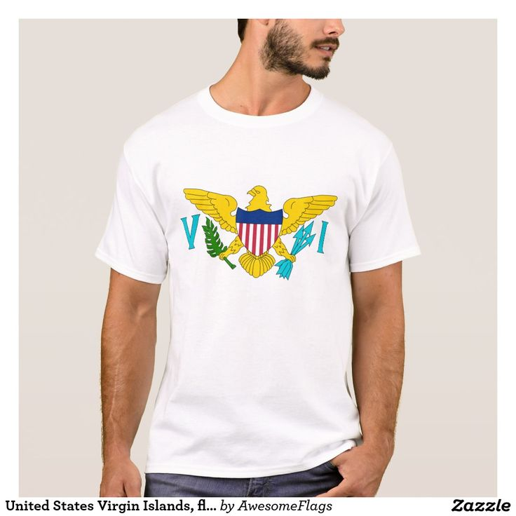 United States Virgin Islands, flag T-Shirt