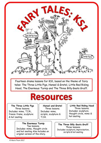 Fairy Tales (14 drama lessons for K.S.1 based on five popular fairy tales)