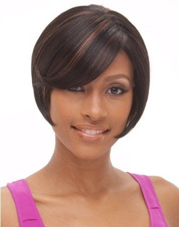Short Bob Haircut for Black Women | My new office style ...
