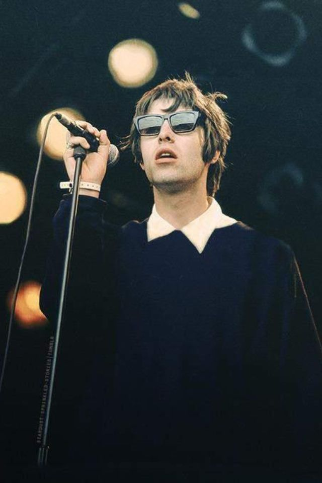 Timeless Cool: Liam Gallagher, Glastonbury 1994.