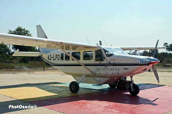 Brand-new Airvan in Botswana