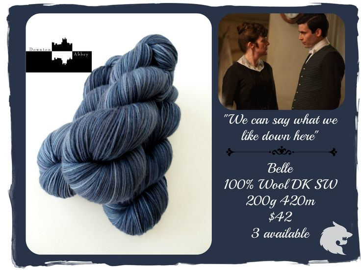 We can say what we like down here - Downton Abbey Downstairs / Red Riding Hood Yarns