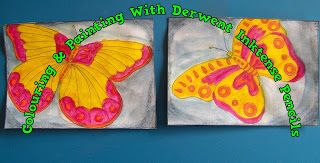 A Pretty Talent Blog: Cardmaking: To Colour Or To Paint Part 1