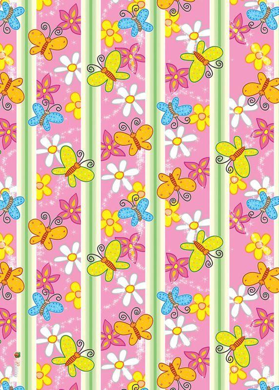 13 best papeles decorativo flores images on pinterest - Papel pintado a rayas verticales ...
