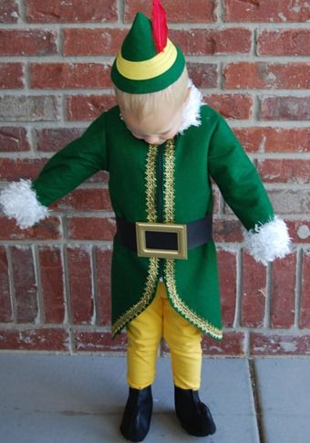 Buddy the Elf Costume + hat tutorial