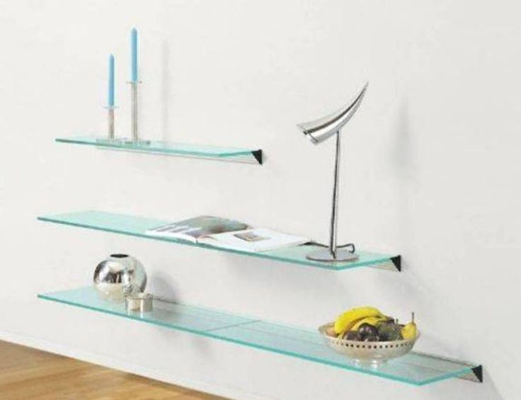 floating glass shelf brackets canada shelves diy awesome uk