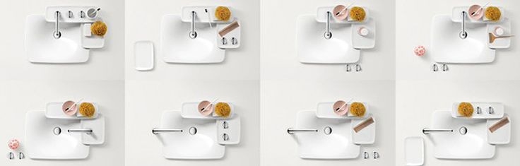 Axor Bouroullec Unlimited Possibilities for the Bathroom. Iterations in retail.
