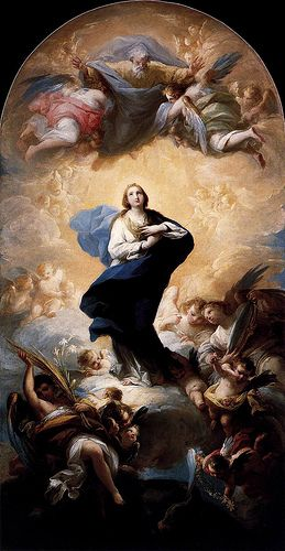 Maella, Mariano Salvador (1739-1819) - 1781 Immaculate Conception (Prado Museum, Madrid, Spain)
