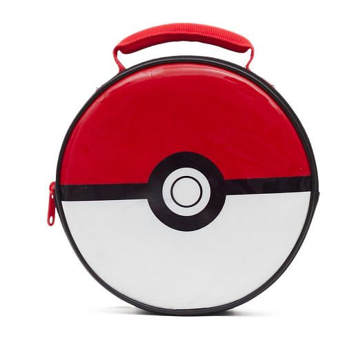 This Pokemon Lunch Box is great for packing lunch or snack. It has a foam insulated main compartment with easy to clean lining. It also has 2 reflective strips for added visibility. Carry it using the webbing carry handle.<br><br>The Pokemon Pokeball Insulated Lunch Box Features:<br><ul><li>Reflective Side Safety Tape</li><br><li>Insulated</li><br><li>Foam Webbed Handle</li></ul>