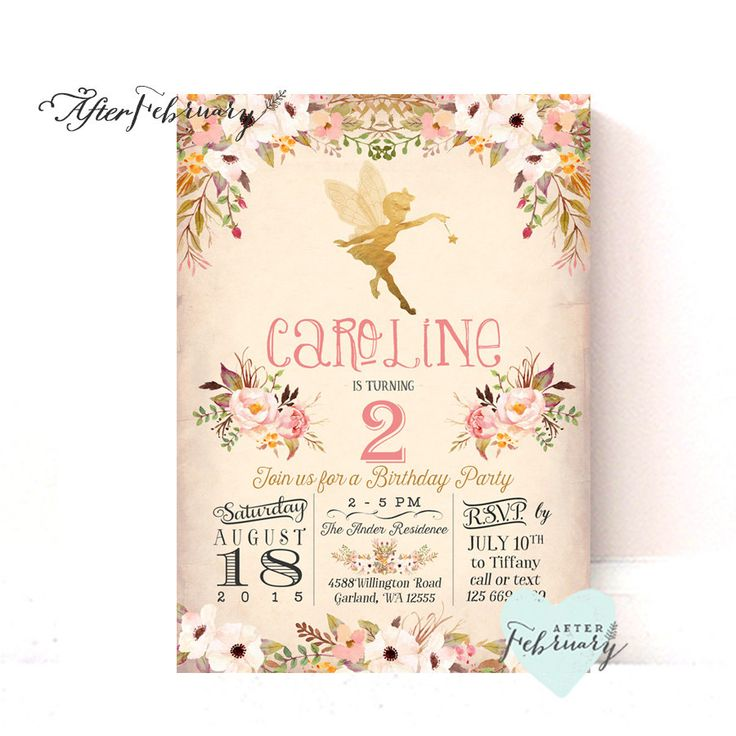 Best Birthday Images On Pinterest Birthday Invitations - Vintage girl birthday invitation
