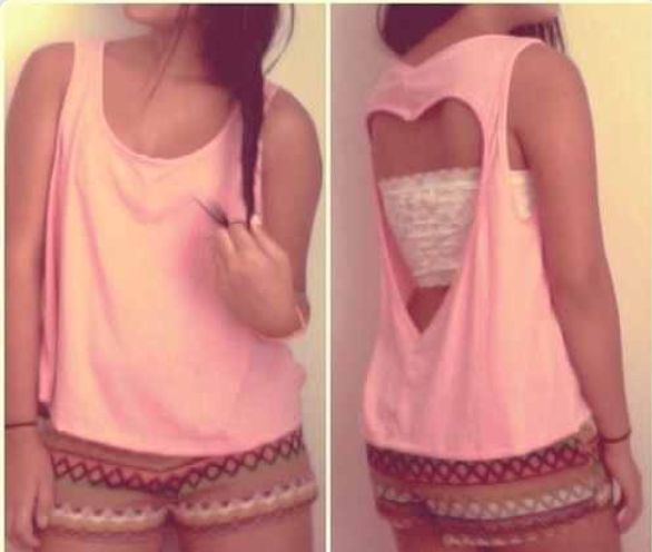Cute DIY's for Girls: Easy Heart Tee
