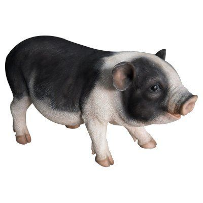 Border Concepts Pot Bellied Pig Statue - 83254