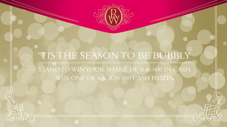 You should enter Sparkling Wine Competition. There are great prizes and I think one of us could win!